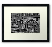 Rice Gristmill III (HDR) Framed Print