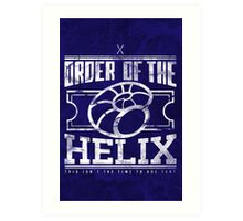 Order of the Helix Art Print