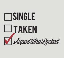 SINGLE TAKEN SUPERWHOLOCKED by fandomfashions