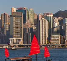 Hong Kong Harbour by Tam Church