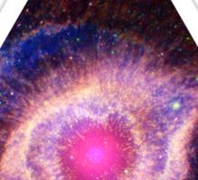 Helix Nebula Triangle | Fresh Universe Sticker