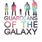 Guardians of the GALAXY by BlueCordial