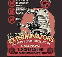 Dalek Exterminate  by Geoffgroth
