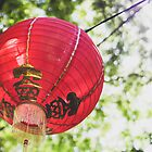 Red Chinese Lantern by Mohini Patel Glanz