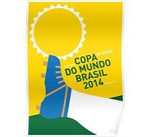 MY 2014 WORLD CUP SOCCER BRAZIL - RIO MINIMAL POSTER Poster