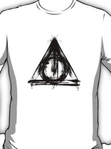 Bloody deathly hallows T-Shirt