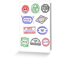 Gaming Passport Greeting Card