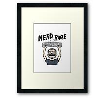 Nerd Rage Framed Print