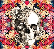 You are not here Sugar Skull by KristyPatterson