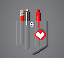 A Pocket Full of Pixels (Smart Device Cases) by thom2maro