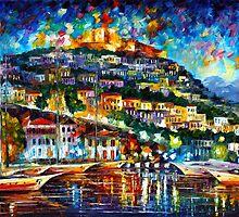 GREECE — LESBOS ISLAND by Leonid  Afremov