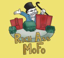 Rich Ass Mofo Shirt Kids Clothes