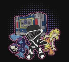 Old Skool 80s Cartoon B Boys (and girl) Kids Clothes