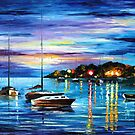 MYSTERY OF THE NIGHT by Leonid  Afremov