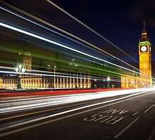Big Ben & The Bus by Mark Cass