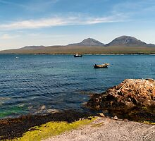The Paps of Jura across the Sound of Islay by Kasia-D