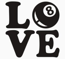 Billiards love by Designzz