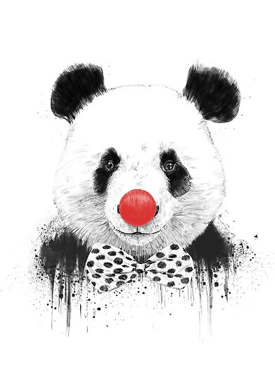 Clown panda by soltib