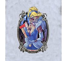 Disney Cinderella Zombie by N1K0VE