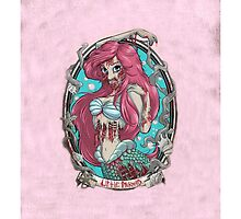 Disney Little Mermaid Ariel Zombie by N1K0VE