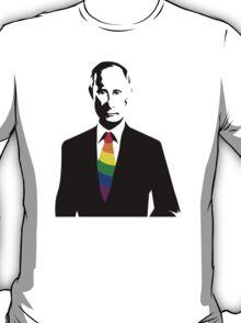 Putin LGBT Supportive Tie T-Shirt