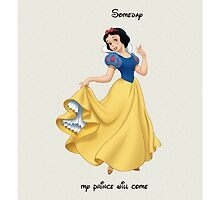 Disney Snow White Someday by N1K0VE