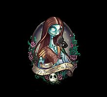Disney Nightmare Before Christmas Sally Tattoo by N1K0VE