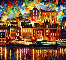 STOCKHOLM by Leonid  Afremov