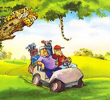 Fat Golfers by RoseRigden