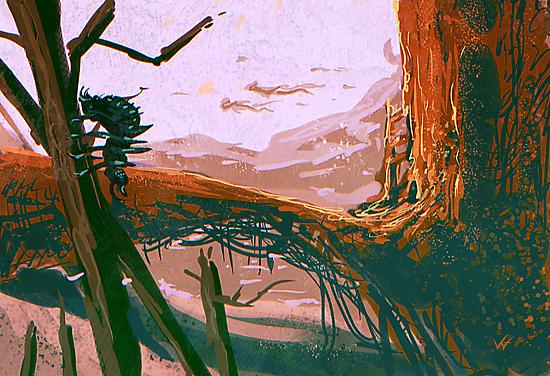 A planet by Vaggelis Ntousakis
