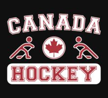 2014 Winter Olympics Canada Hockey T Shirt by xdurango