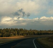 Landscape of Wyoming by florencefraikin