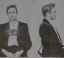 Johnny Cash mugshot by Chubox5179