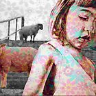 The jeremy girl and the sheeps - flower version by ARTito