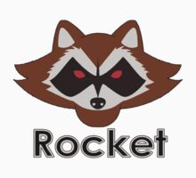 Rocket ( T-Shirt & Sticker ) by PopCultFanatics
