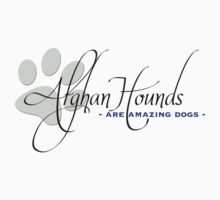 Afghan Hounds - Are Amazing Dogs by Helen Green