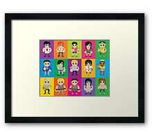 Lil' Lilley All Characters  Framed Print