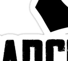 Anarchy (Black Text) Sticker
