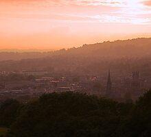 Sunset from Widcombe Bill, Bath by gordonmackay