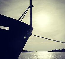 Lake Michigan Ship by Kimberose