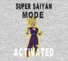 Super Saiyan Mode Gohan Super Saiyan 2 by BadrHoussni