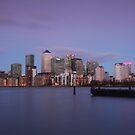 Docklands Dusk by Ursula Rodgers