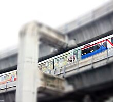 Bangkok Sky Train by missmoneypenny