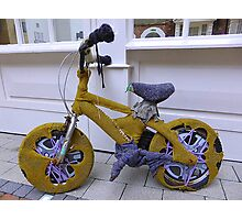Knit Your Own Bicycle Warmer Photographic Print