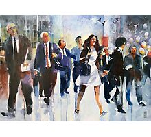 Street people Photographic Print