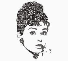 Audrey Hepburn (Black) by seanings