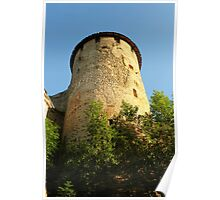 Tower Ivangorod fortress Poster