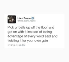 Liam's best tweets #2 by shellc0de