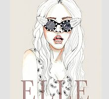 ELLE IPhone case by natalie-msfts
