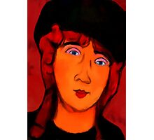 portrait of lolottle Photographic Print